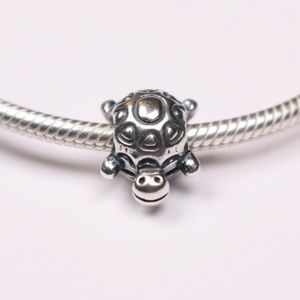 Authentic PANDORA Sterling Silver Turtle Charm